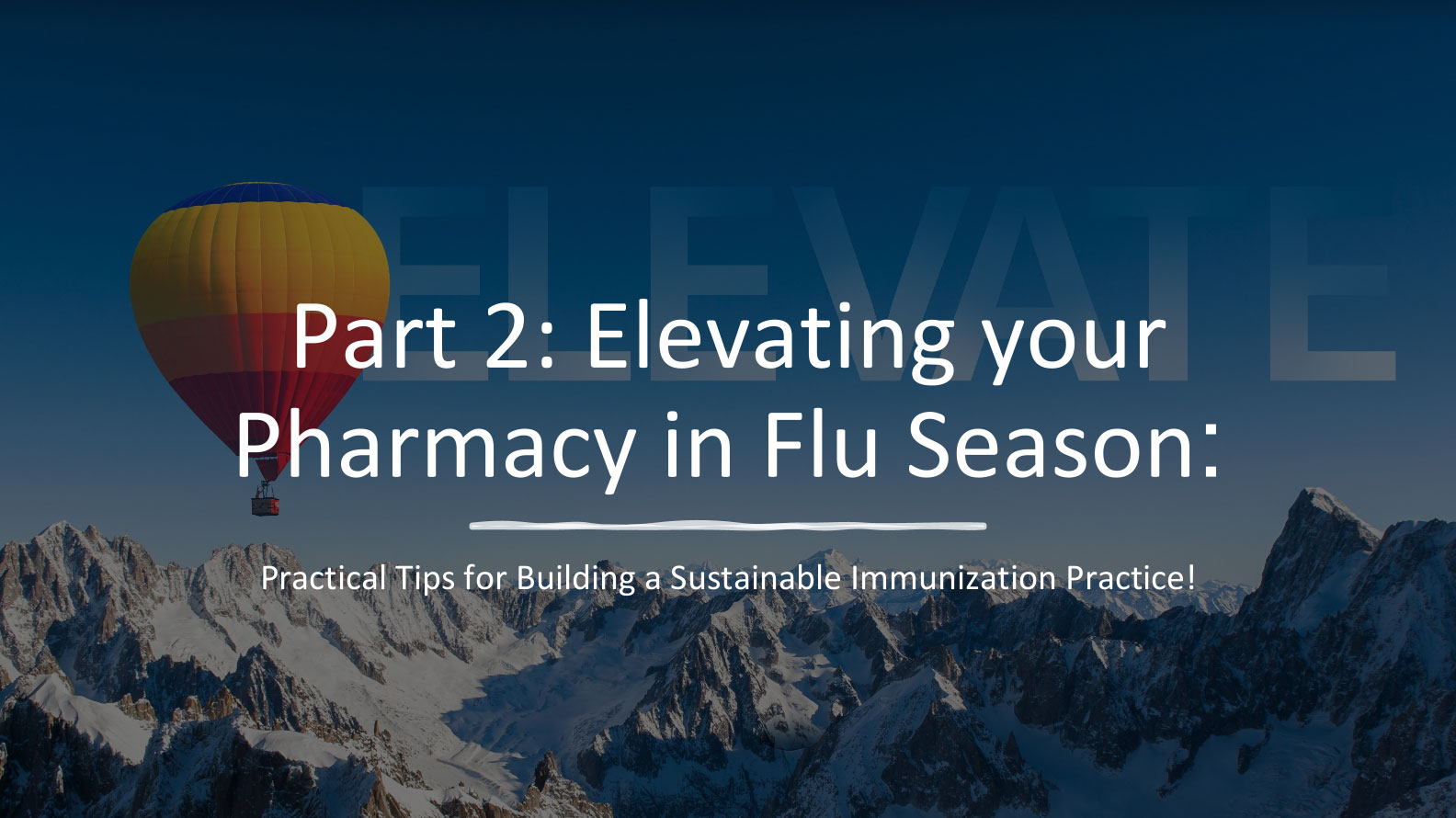 Read more about the article Elevating your Pharmacy in Flu Season